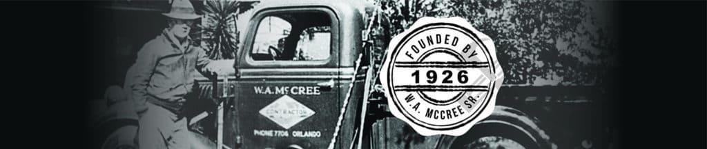 W. A. McCree 1926