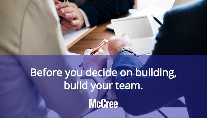 people working together as a team