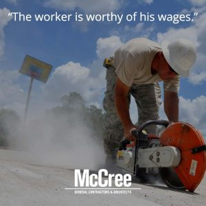 Worker worthy of his wages
