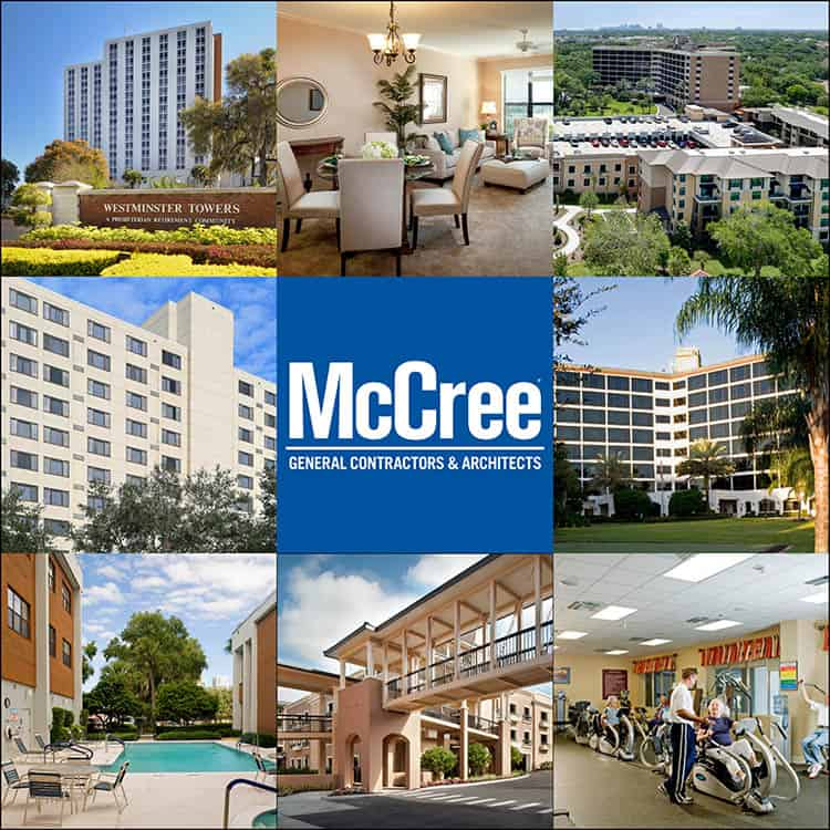 McCree Retirement Facilities collage